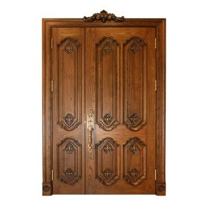 实木整装木门