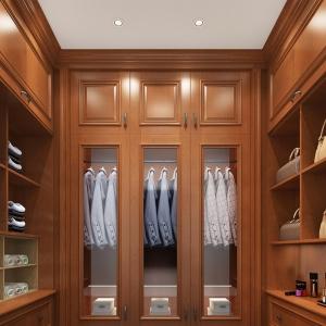 全屋实木整装修-衣柜