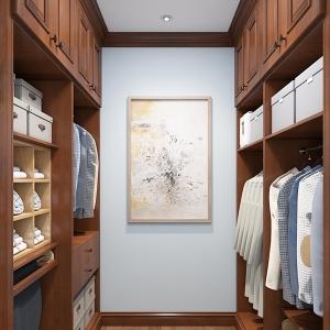 全屋实木整装哪家好-衣柜