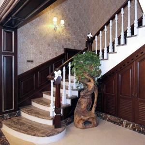 实木整装定制价格-楼梯