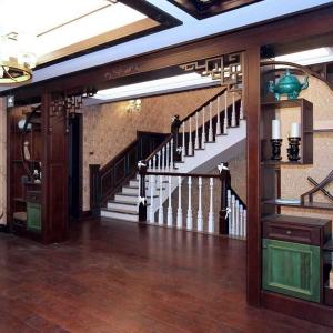 实木整装定制-楼梯