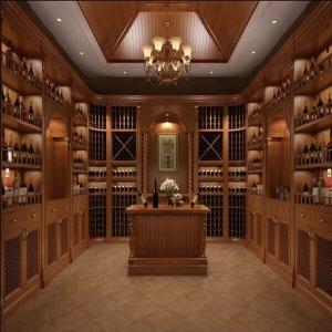 实木酒窖的设计